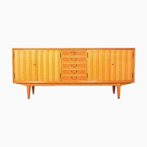 Large Vintage German Cherry Wood Sideboard, 1950s