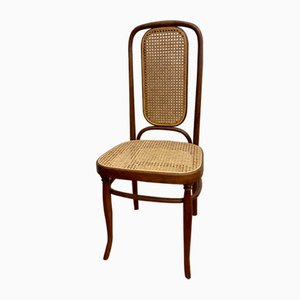 Bent Wood Chair with Viennese Mesh from Mundus