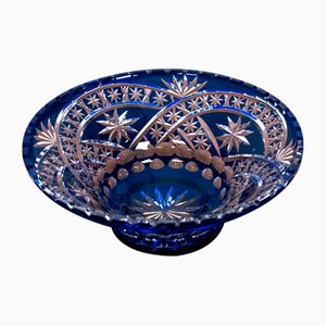 Large Crystal Bowl, Germany, 1930s