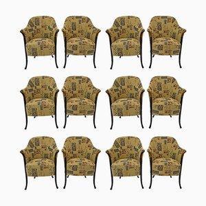 Italienischer Progetti Stuhl von Giorgetti, 1980er