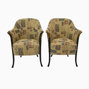 Italian Progetti Chairs from Giorgetti, 1980s, Set of 2