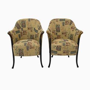 Italienische Progetti Stühle von Giorgetti, 1980er, 2er Set
