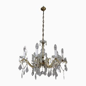 Crystal Chandelier in the style of Maria Theresia, 1950s