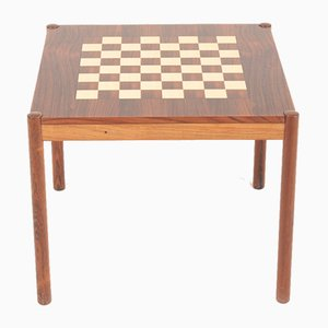 Mid-Century Game Table in Rosewood by Georg Petersen, 1960s