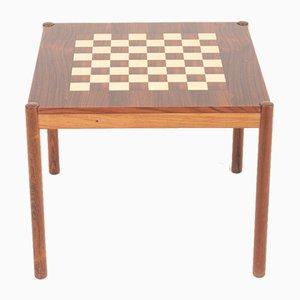 Table de Jeux Mid-Century en Palissandre par Georg Petersen, 1960s