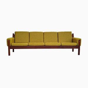Danish 4-Seater Teak Sofa, 1970s