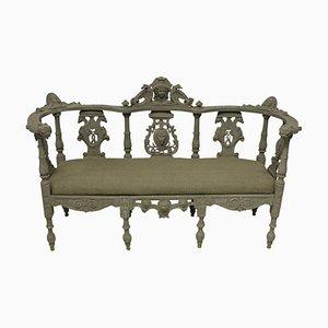 Irish Hall Bench, 1800s