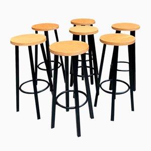 Bar Stools, Set of 7
