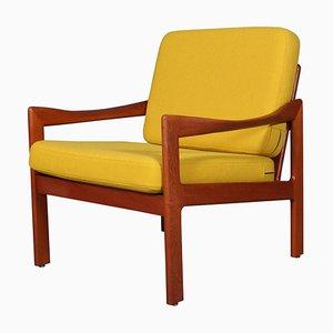 Model 20 Solid Teak Lounge Chair by Illum Walkelsø for N. Eilersen