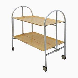 Mid-Century French Folding Bar Cart, 1950s