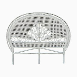 Mid-Century French Wicker Daybed