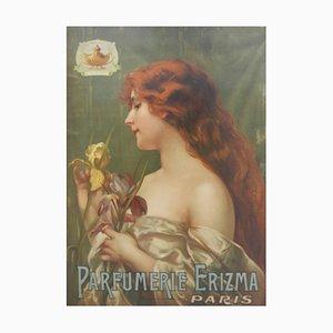Póster publicitario de Perfume Paris