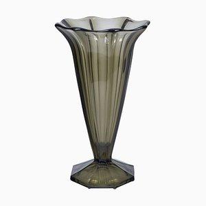 Art Deco Glass Vase, France