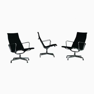 Eames Aluminum EA 116 Lounge Chair from Vitra