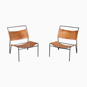 Chairs by A. Dolleman for Metz & Co, The Netherlands 1950, Set of 2