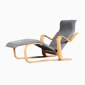 Long Chaise Lounge von Marcel Breuer für Gavina, Italien, 1970er