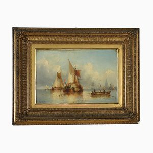 Oil on Tablet by Charles John De Lacy
