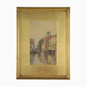 Aquarell auf Papier von Wilfred William Ball