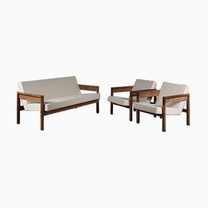 Living Room Set by Hein Stolle for t Spectrum, 1950s, the Netherlands, Set of 3