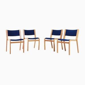 Chairs by Rud Thygesen & Johnny Sørensen for Magnus Olesen, Denmark, Set of 4