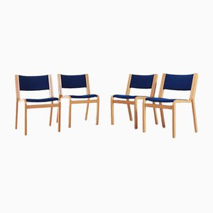 Stühle von Rud Thygesen & Johnny Sørensen für Magnus Olesen, Denmark, 4er Set