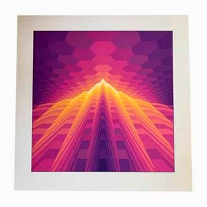 Yvaral (Jean-Pierre Vasarely), Lithograph, 1978