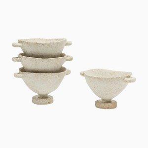 Glaze Skypho Stoneware Vases by Raquel Vidal and Pedro Paz, Set of 4
