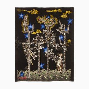 Little Neptune Woolen Tapestry by Jean Lurçat for Gisèle Brivet Workshop, France