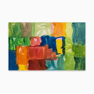 Yaddo A, Abstract Expressionism Painting, 2005