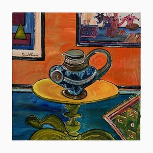 David Harper viktorianischen Krug, Contemporary Expressionist Still Life Gemälde, 2021