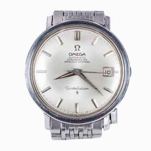 Omega Constellation Vintage Armbanduhr aus Stahl 1966