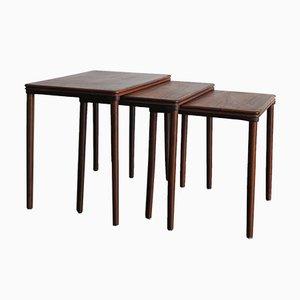 Skandinavische Tische von Johannes Andersen, 1960er, 3er Set