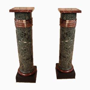Marble Columns, Set of 2