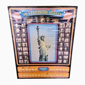 Poster der amerikanischen Präsidenten, 1970er
