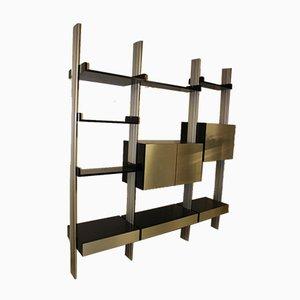 Modular Shelf in Black Patina Ash from Roche Bobois, 1970s