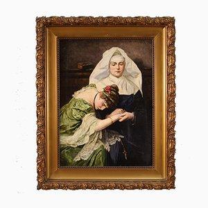 Romantic Italian Painting, 19th Century