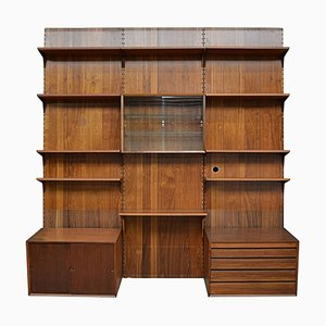 Mid-Century Danish Wall-Unit System by Poul Cadovius