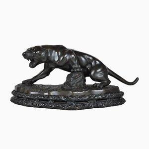 Bronze Panther, frühes 20. Jh