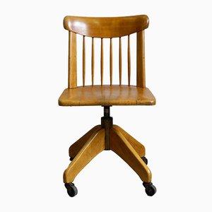Federdreh Office Chair by Albert Stoll, 1940s