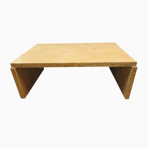 Brutalist Oak Coffee Table