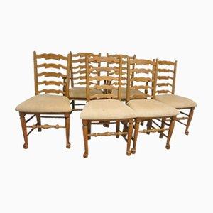 Beech Chairs, Set of 6