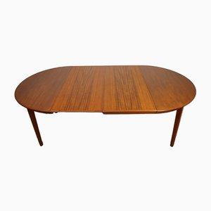 Scandinavian Dining Table by Ole Hald for Gudme Mobelfabrik, 1960s