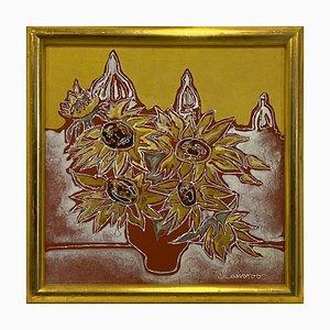 Yuri Kamarov, Untitled, Mixed Media on Canvas, Italy
