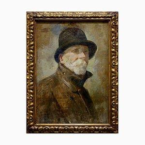 Anonymous, Self-Portrait of Edoardo Dalbono, Oil on Canvas, Italy