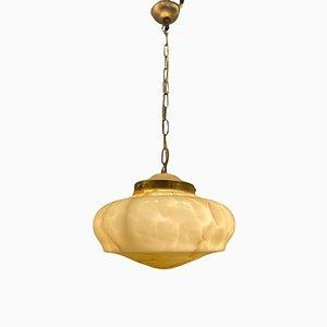 Italian Vintage Murano Glass Light Pendant