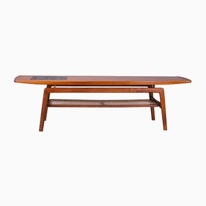 Teak and Mosaic Coffee Table by Arne Hovmand-Olsen for Mogens Kold, 1960s