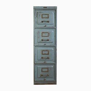 Metal Filing Cabinet from Forge Des Strasbourg, 1920s