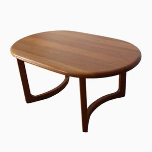 Teak Coffee Table from Niels Bach, 1960s