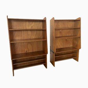 Modernist Shelves, France, 1950s, Set of 2