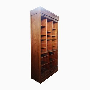 Oak Document Holder Cabinet, 1900s